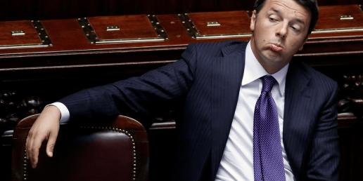 Renzi kondigt aftreden aan